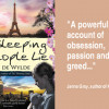 "More 5-star reviews for Jae De Wylde's second novel ""Sleeping People Lie"""